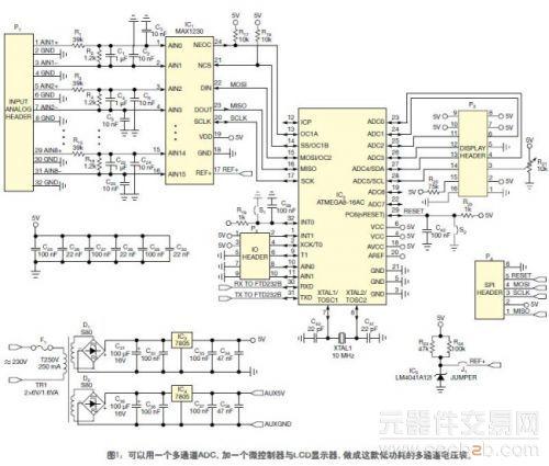 数字电压表原理阐述