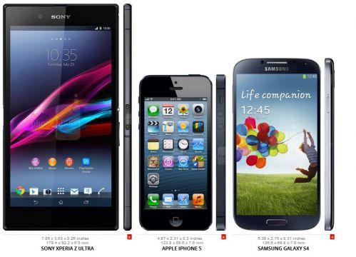 苹果5与三星s4�:/�_索尼xperia z ultra和iphone 5以及三星galaxy s4对比