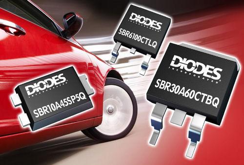 "Diodes超级势垒整流器新增""Q""系列成员0"