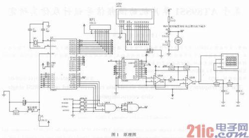 单片机 正文  基于单片机函数信号发生器原理接线图