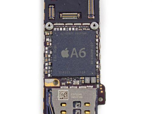 苹果5c主板图解