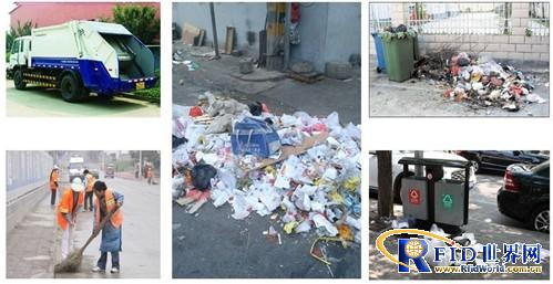 城市垃圾桶垃圾堆积情况严重