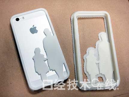 """制作""""自己的iphone保护壳"""""""