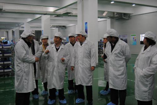 冯岩副市长莅临山亿新能源调研科技创新工作图片