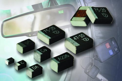 Vishay推出高CV等级的MicroTan汽车级固钽片式电容器 0