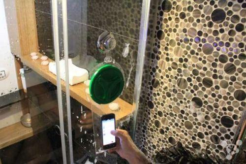 浴室防水神器:hoyo智能手机透明防水袋
