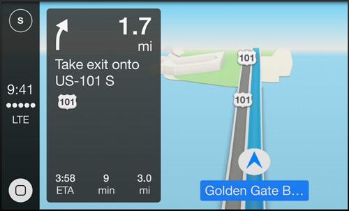 苹果宣布CarPlay:深度整合 Siri 支持第三方应用程序6