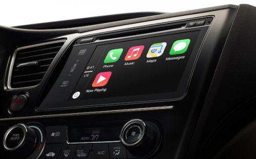 苹果宣布CarPlay:深度整合 Siri 支持第三方应用程序0