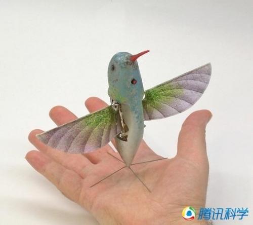 神奇的模仿动物机器人:蜂鸟