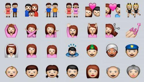 苹果完美控:表情有鬼的表情图片大全正丰富努力Emoji细节图片