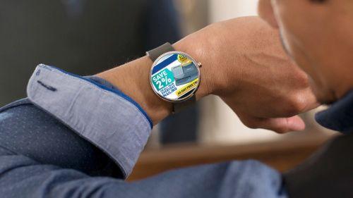 智能手表上的广告 你的手腕会不会变成下一个信息板图片