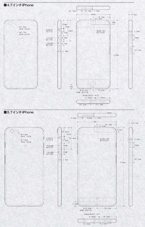 外形商手机壳谍照泄露iPhone6农村设计设计配件房平方75图纸图片