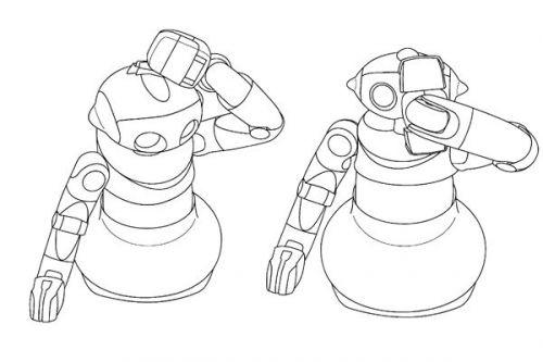 索尼研发可爱机器人:可以给自己洗澡