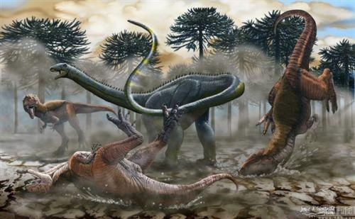 阿根廷现史上最大恐龙化石:等于14头大象