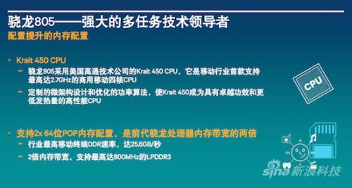 高通骁龙805解析:GPU提升明显 内存带宽翻倍3