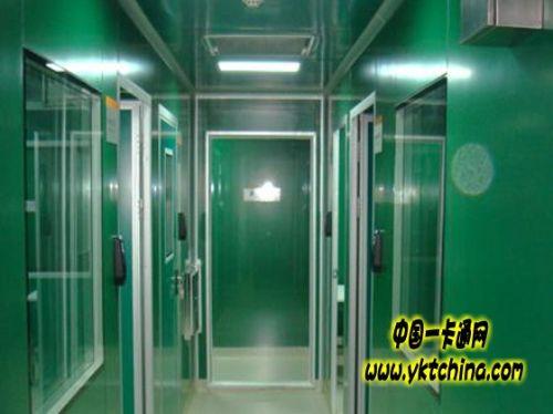 上海胸科医院门禁系统解决方案2