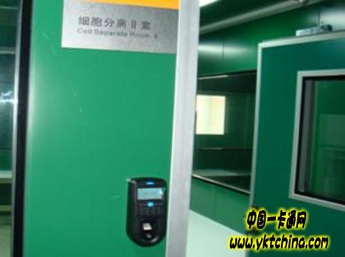 上海胸科医院门禁系统解决方案1