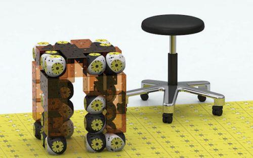 Roombots:运动形和可变的未来家具家具市场汝州二手图片