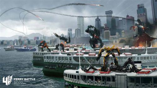 机器恐龙霸气高清图片