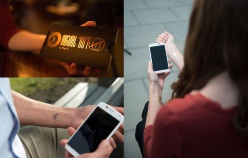 可以解锁智能手机的数字纹身问世图片