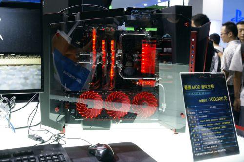 华硕最强主机亮相cj 配备g-sync显示器