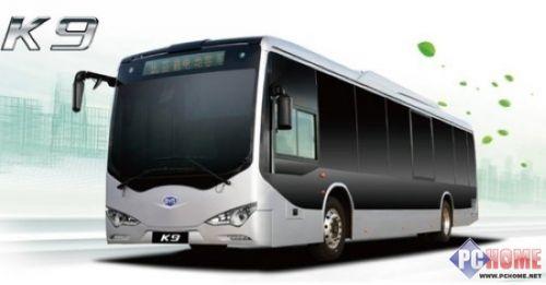 比亚迪k9电动巴士   比亚迪表示,为推进新能源客车项目的建高清图片