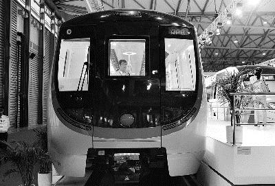 无人驾驶地铁即将驶进北京0高清图片