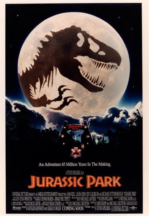 图集:《侏罗纪公园》未公开手绘海报 业界新闻