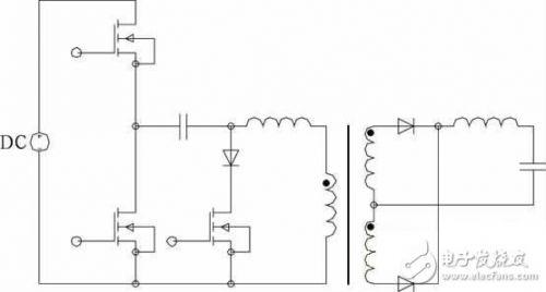 控制与缓冲型半桥dc-dc变换器的pwm控制