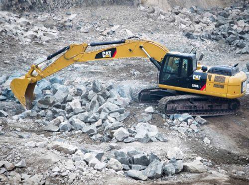 全面升级的三款Cat液压挖掘机2