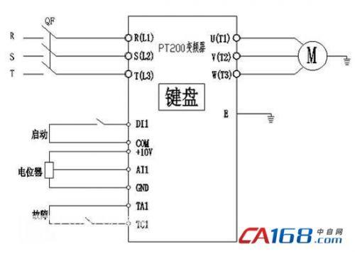 电气接线图,参数设置