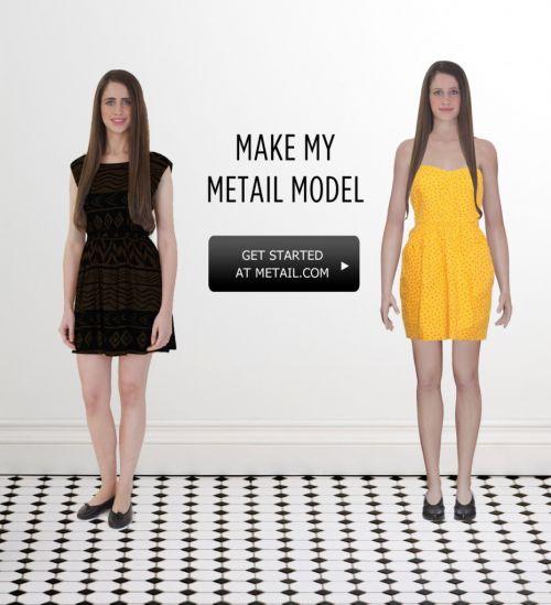 3d虚拟试衣服务商metail打造体型数据库