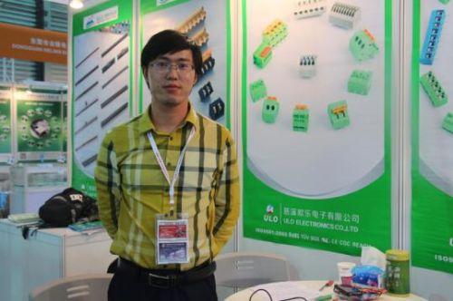 第84届上海电子展 专访慈溪欧乐电子倪斌0