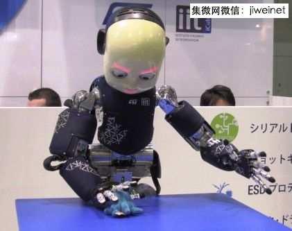 可爱意大利小机器人icub风靡日本