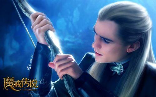 精灵王子变身《魔戒传说》弓箭手职业