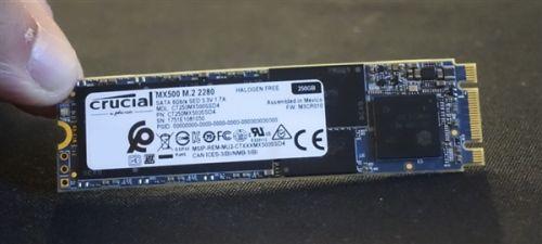 最高1TB!英睿达新款MX500 M.2固态硬盘发布0
