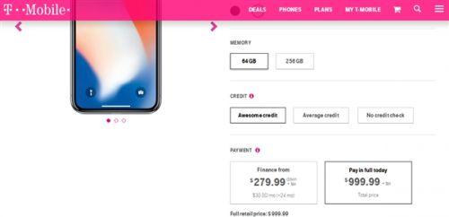 iPhone X美国销量遇冷:运营商狠促销 买一送一1