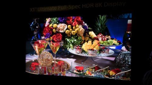 索尼8K HDR电视逆天!1万nit亮度如小太阳0