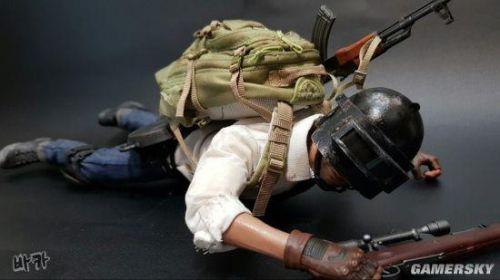 玩家自制《绝地求生》角色模型 三级头平底锅超还原6