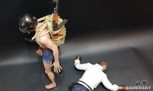 玩家自制《绝地求生》角色模型 三级头平底锅超还原3
