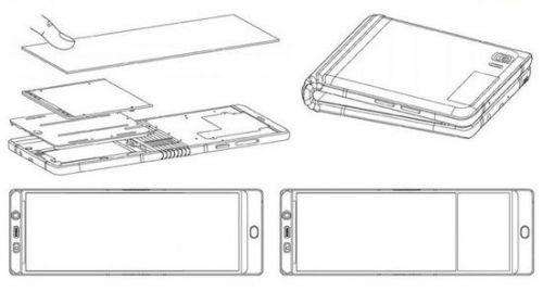三星折叠手机2019年发布 最新专利又曝光1