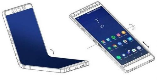 三星折叠手机2019年发布 最新专利又曝光0