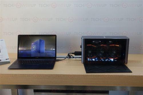 兼容PC和Mac!华硕新款外置显卡盒:双120毫米风扇0