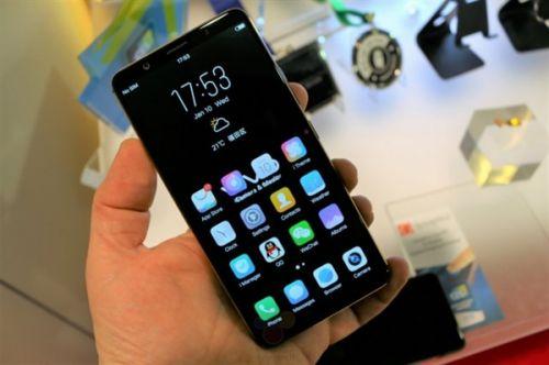 vivoX20屏下指纹手机3698元 本月开卖0