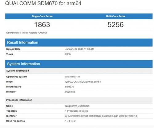 骁龙670 10nm八核GPU的飞跃1