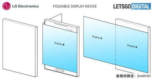 分屏交互 LG折叠智能手机专利被曝光0