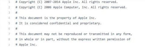 苹果很惶恐 iOS源代码泄漏!2