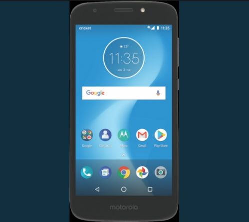 Moto E5 Play曝光:信仰Logo和指纹识别合二为一1