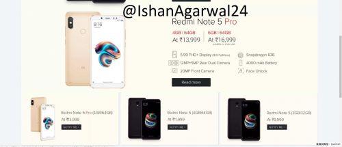 小米印度发布会怕是要凉 红米Note5双版本真机价格全曝光3