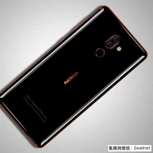 诺基亚7 Plus外形曝光:配置升级 蔡司双摄2